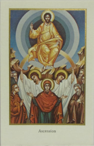 "Holy Card- ""Ascension"" Holy Card"