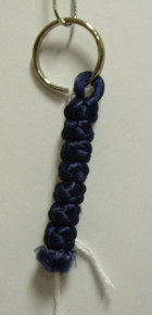 Prayer Rope- Key Chain (Blue)
