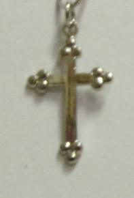 Jewelry- Silver Cross