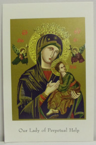 Holy Card- Our Lady Of Perpetual Help