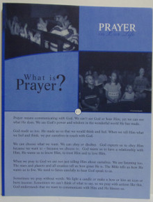 Prayer In Our Life Lesson Booklet Set (I1-7)
