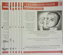 Celebrating Faith Lesson Booklet Set (Red)