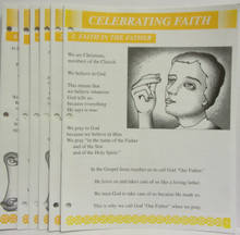 Celebrating Faith Lesson Booklet Set (Yellow)