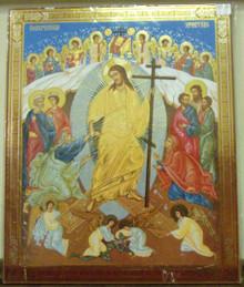 Icon- Risen Christ - xl