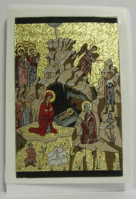 Greeting Card- Nativity Tapestry Card (2)
