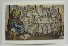 Greeting Card- Marriage At Cana Tapestry Card