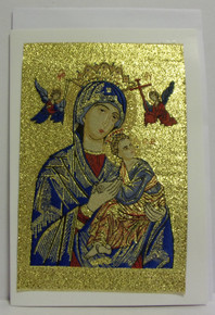 Greeting Card- Perpetual Help Tapestry Card