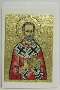 Greeting Card- St. Nicholas Tapestry Card