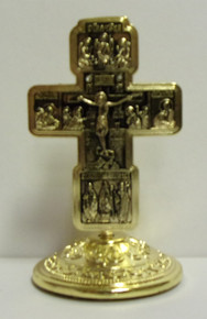 Cross- Small Gold Tone Cross (2)