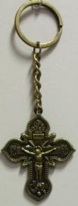Key Chain- Bronze Cross