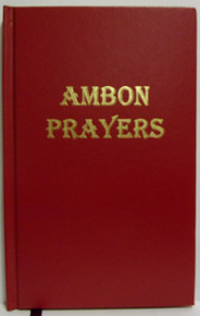 Ambon Prayers Of The Byzantine Church