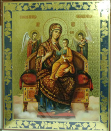Icon- Mary Queen Of All Madonna & Children