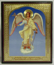 "Wooden ""Guardian Angel"" Icon Box"