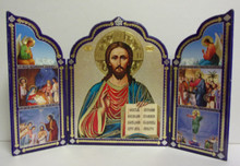 Icon- Christ Feast Day Triptych