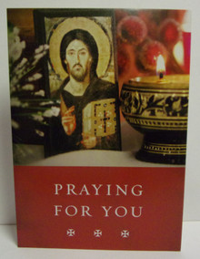 "Greeting Card- ""Praying For You"" Card"