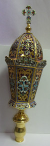 Enameled Procession Lamp