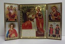 Icon- Theotokos Triptych