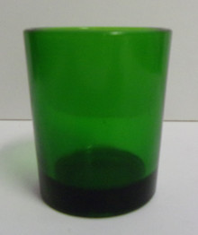 Votive Light- Green (2)