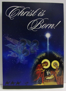 "Greeting Card- ""Christ Is Born"" Christmas Cards (pack of 15)"