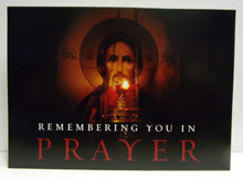 "Greeting Card- ""Remembering You In Prayer"" Sympathy Card"