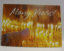 "Greeting Card- ""Many Years"" Card"
