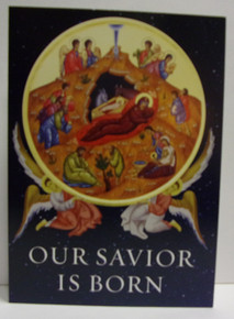"Greeting Card- ""Our Savior Is Born"" Christmas Cards (Pack Of 15)"
