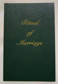Ritual of Marriage (Priest's edition, Paperback)