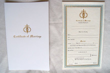 Certificate- Certificate of Marriage
