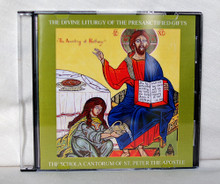 CD- The Divine Liturgy of the Presanctified Gifts with Propers for Great and Holy Wednesday