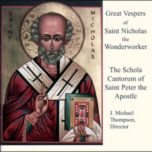 CD- Great Vespers of Saint Nicholas the Wonderworker