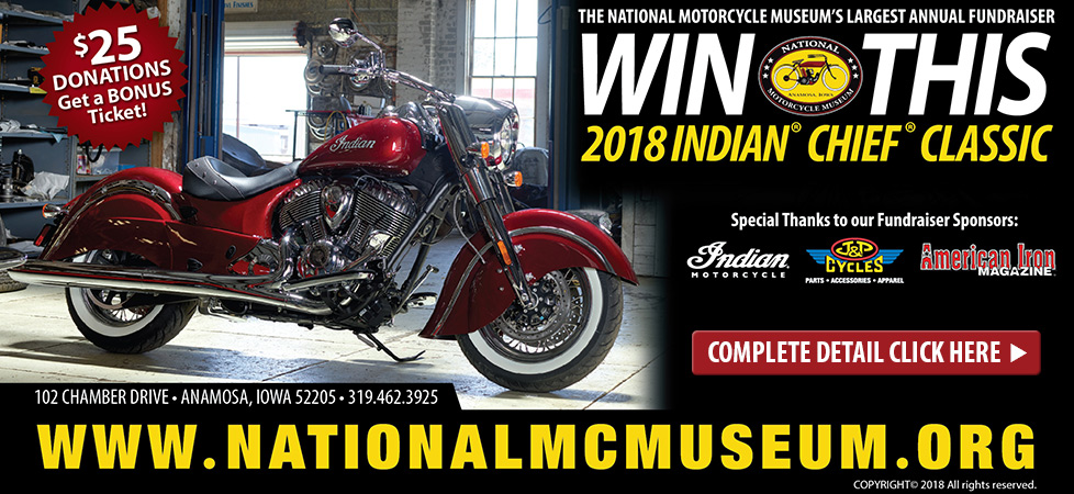 Win This 2018 Indian Chief Motorcycle