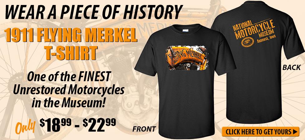 1911 Flying Merkel T-shirt
