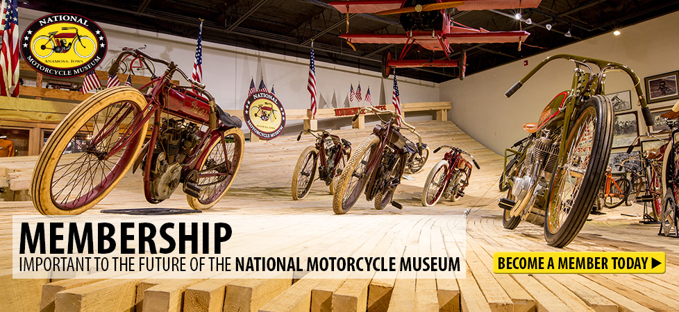 Become a Member of the National Motorcycle Museum
