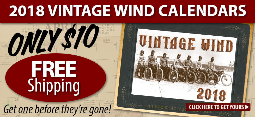Vintage Wind Calendars only $10.00