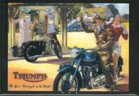 Triumph Gas Station Magnet