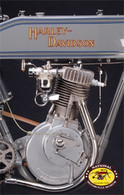 1911 Harley-Davidson Engine Postcard
