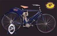 1903 Indian Single Motorcycle Postcard