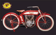 1913 Sears V-Twin Bike Postcard