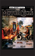 The Motorcycle 1929 Magazine Postcard