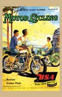 BSA Motorcycling Postcard