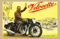 Velocette Motorcycle Postcard