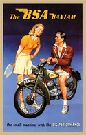 The BSA Bantam Postcard
