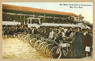 Motorcycle Club Postcard