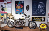 Steve McQueen Display Postcard