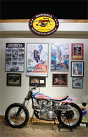 Evel Knievel Display Postcard