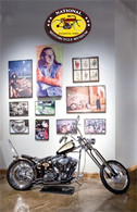 Indian Larry Display Postcard