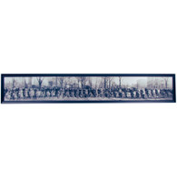 Detroit Motorcycle Club Panoramic Print