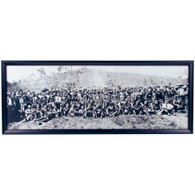 Easton Hill Climb Panoramic Print