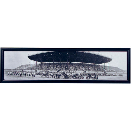 Cedar Rapids, Iowa Frontier Park Motor Races Panoramic Print