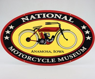 National Motorcycle Museum Logo Sticker